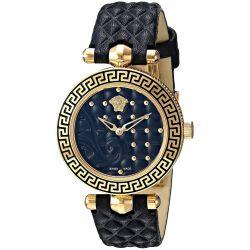 Versace-VQM010015-Womens-MICRO-VANITAS-Gold-Tone-Quartz-Watch