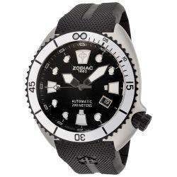 Zodiac-ZO8013-Mens-Stainless-Steel-Black-Automatic-Watch
