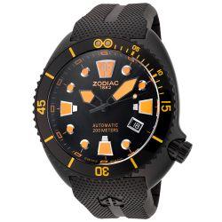 Zodiac-ZO8016-Mens-Stainless-Steel-Black-Quartz-Watch